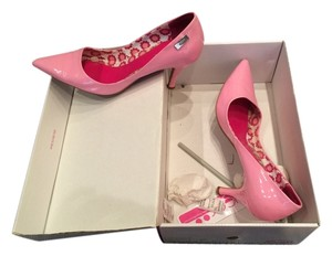 Sugar Spring Patent Leather Pink Pumps