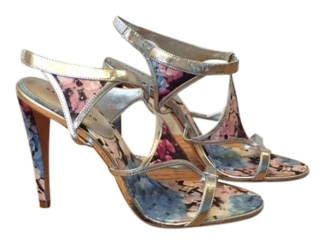 Item - Multi with Silver Metallic Color Heels Vero Cuoio Formal Shoes Size US 9.5 Regular (M, B)