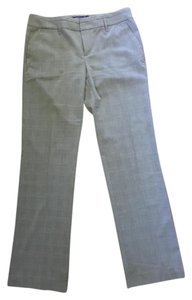 Mexx Trouser Pants gray and white plaid