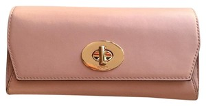 Coach Coach Turnlock Envelope Wallet Clutch