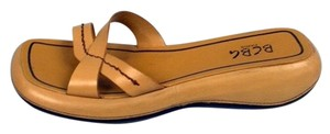 BCBG Paris Bcbg Leather Tan Sandals