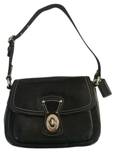 Coach Patent Leather Night Out Shoulder Bag