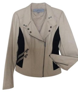 Andrew Marc Beige/ Black Jacket