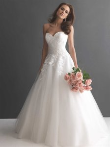 Allure Bridals 2657 Strapless Bridal Gown Wedding Dress