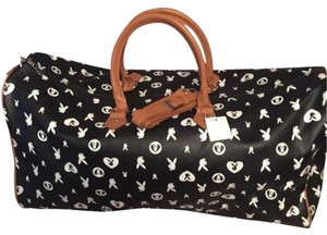 Playboy Black, White Travel Bag