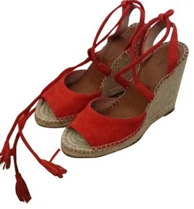 Joie Red Wedges