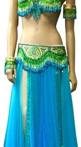 Maxi Dress by Handmade pan Stitchen beats belly dancer
