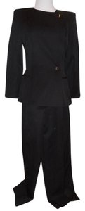 Claude Montana STATE OF CLAUDE MONTANA FAB 2 PC. PANT SUIT, ELEGANT TAILORED BLAZER