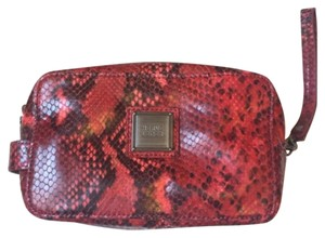 Herv Leger Red Clutch