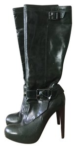 L.A.M.B. Dark Forest Green Boots