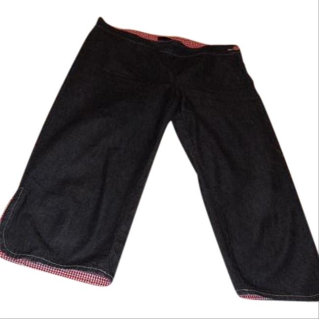 Item - Denim Medium Wash Great Pants with Touch Checker Fabric Capri/Cropped Jeans Size 31 (6, M)