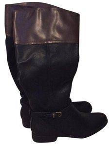 Merona Black and brown Boots