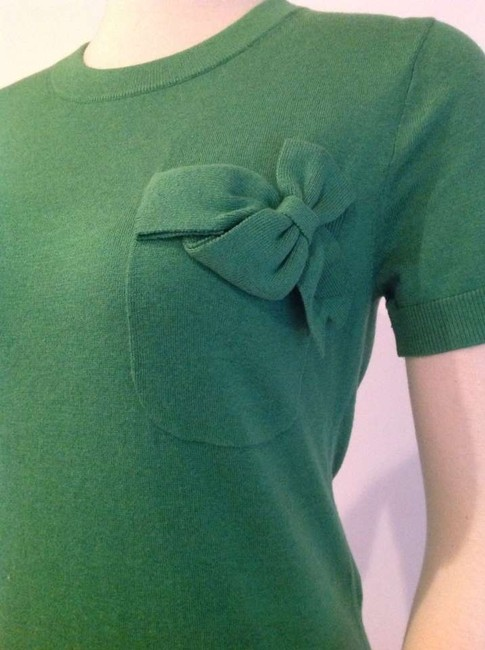 Kate Spade Top Emerald silk blend