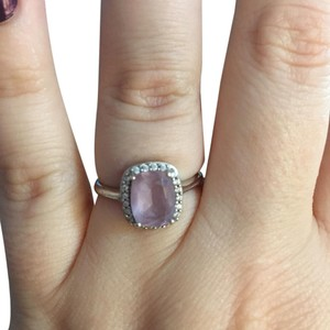 Avon Avon Amethyst and Sterling Silver Ring Size 9