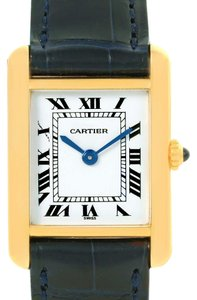 Cartier Cartier Tank Classic Paris Small 18k Yellow Gold Ladies Watch