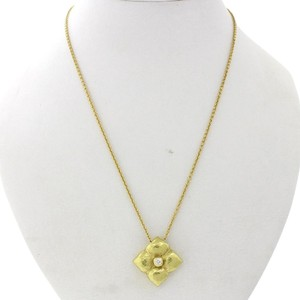 Tiffany & Co. Tiffany & Co. Paloma Picasso 18K Gold Diamond Flower Pendant Necklace
