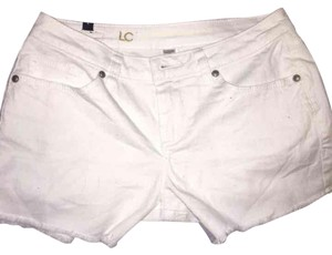 LC Lauren Conrad Mini/Short Shorts White