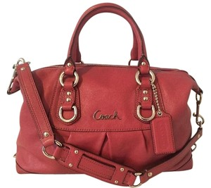 Coach Satchel in Ginger Beet (Pink)