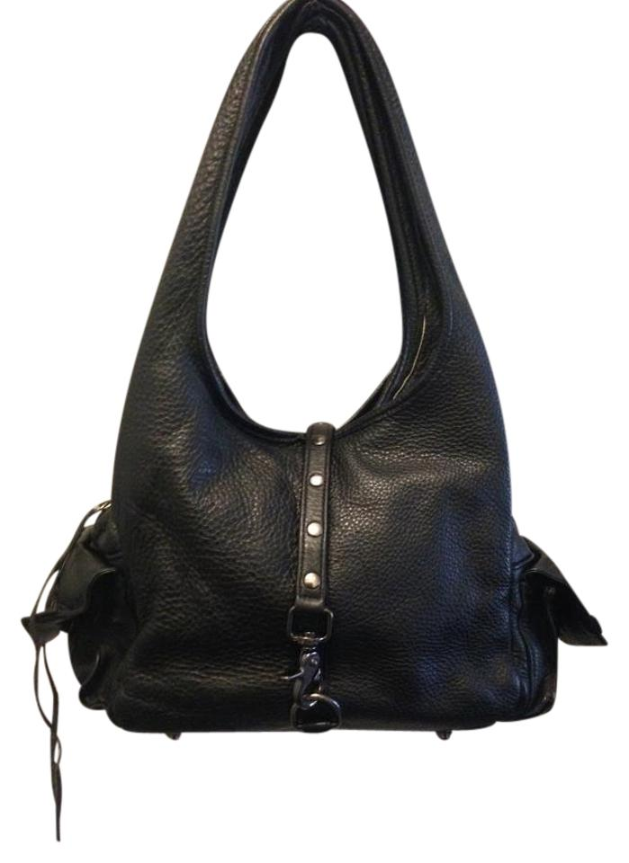 Botkier Mini Leather Bag Black In Shoulder Pebbled Trigger 66wZxUrq