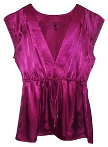 Daisy Fuentes Top Burgundy