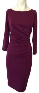 Tahari Purple Pink Bodycon Dress