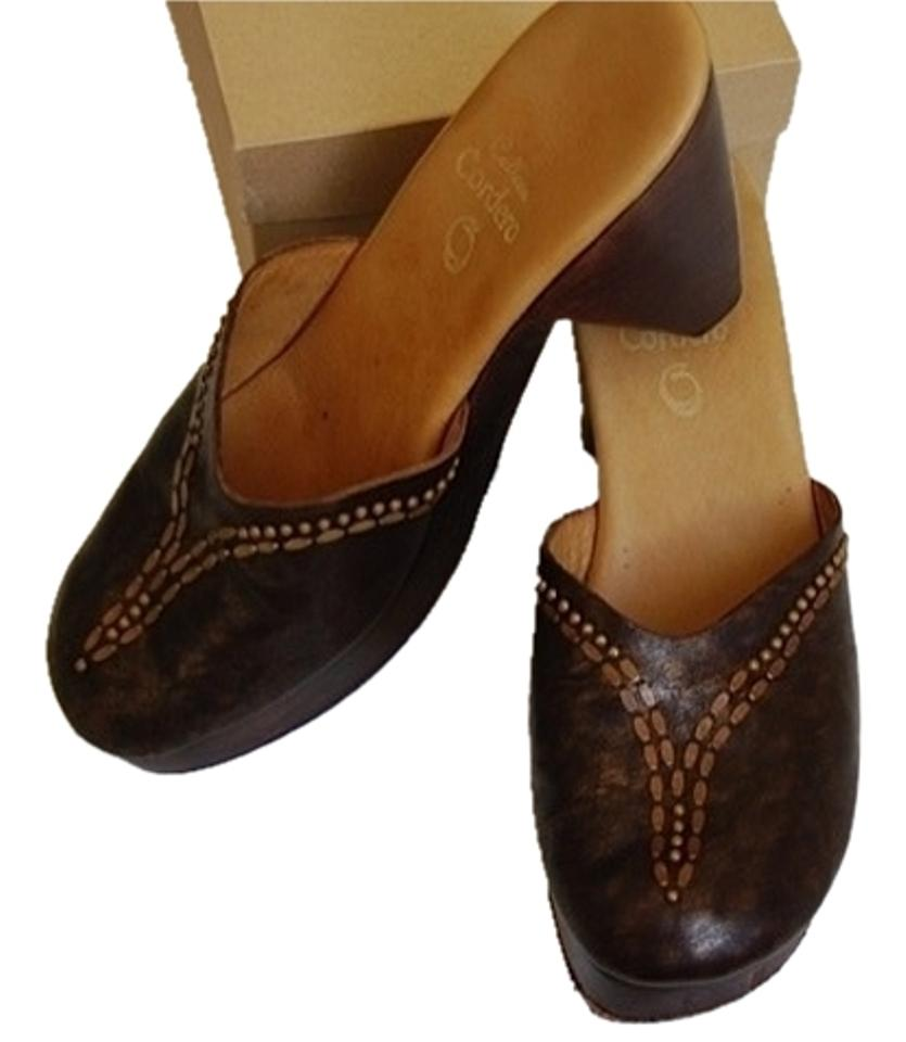 women Calleen widely Cordero Brown Bolero Mules/Slides Highly appreciated and widely Calleen trusted in and out 00443d