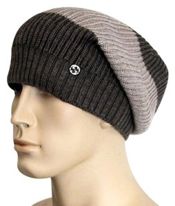 Gucci Gucci Wool Beanie Hat w/Interclocking G w/Tag Brown/ Beige 310777 2879