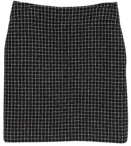 Chanel Skirt Black, White