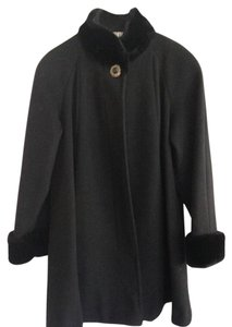 Leslie Fay Swing Fur Coat