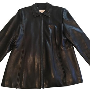 Liz Claiborne Leather Motorcycle Trendy Leather Burberry Leather Jacket