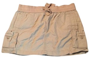 Old Navy Mini Skirt Tan