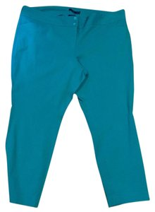 The Limited Capri/Cropped Pants Teal