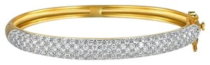 Umode 14k Solid Gold Plated Bangle