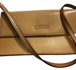 Kenneth Cole Reaction Tan Clutch