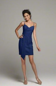 Alfred Angelo Navy Alfred Angelo Navy Bridesmaid Dress - Style 7258 Dress Dress