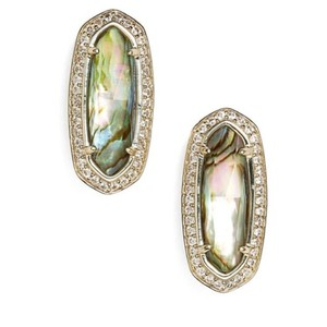 Kendra Scott Kendra Scott Elite 14kt Abalone Crystal