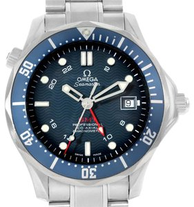 Omega Omega Seamaster Bond 300M GMT Co-Axial Blue Dial Watch 2535.80.00