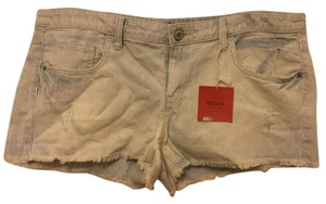 Mossimo Supply Co. Cut Off Shorts Blue striped