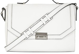 BCBGMAXAZRIA Classic Leather Chic Shoulder Bag