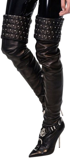 Preload https://img-static.tradesy.com/item/19834225/versace-black-new-chelsea-studded-leather-thigh-high-bootsbooties-size-us-10-0-1-540-540.jpg