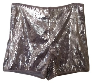 Other Mini/Short Shorts Silver
