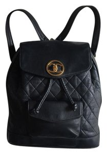 Chanel Quilted Vintage Backpack