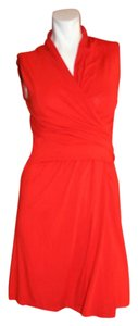 Carven short dress RED Coctail on Tradesy