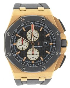 Audemars Piguet Audemars Piguet Royal Oak Offshore Rose Gold 26400RO Watch B&P