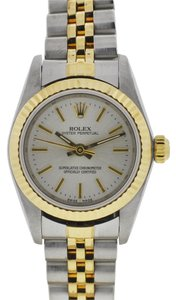 Rolex Rolex 76193 Two Tone Oyster Perpetual Ladies Watch