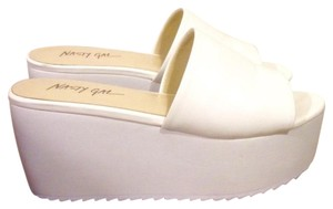 Nasty Gal White Platforms