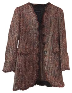 Rena Lange Multi color tweed Blazer