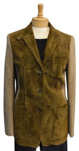 Etro Suede Coat Elliott Consignment Green Jacket