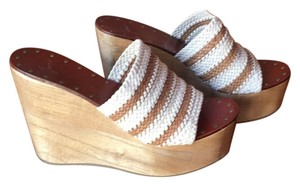 Joie Beige/Brown Wedges