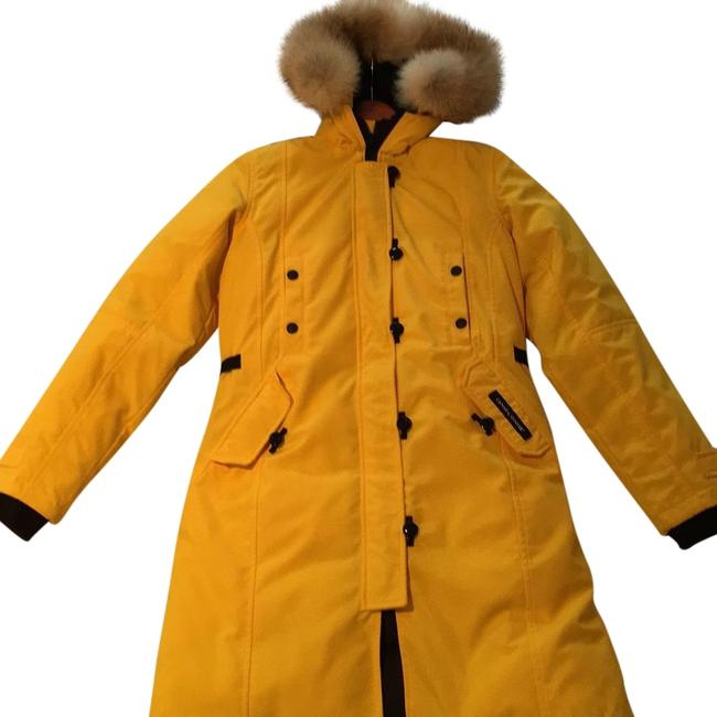 Item - Yellow Kensignton Parka Coat Size 0 (XS)